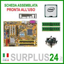 ASUS P5B + Intel Core™2 Quad Q6600 + 4GB RAM   Kit Scheda Madre 775 I/O #1385