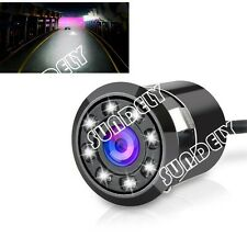 Car Reversing Rear View Camera Backup Parking IR Night Vision 8LED Waterproof UK