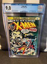 X-Men #94 CGC 9.0 - 2nd App of Colossus, Nightcrawler, Storm, and Thunderbird 🔥