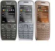 Nokia E52 Cell Phone Camera 3.2mp Bluetooth Wifi GPS 3G Mobile Phone Unlocked