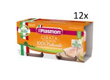 12x PLASMON Orata con patate homogenisiert Babynahrung 2x80g ab 6 Monaten