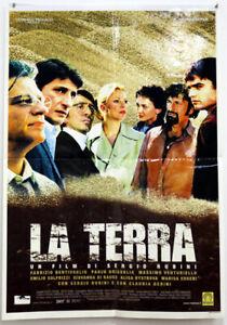 EBOND La Terra di Sergio Rubini - Locandina Originale Cinema O_L0176