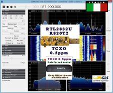 RTL2832U R820T2 RICEVITORE SCANNER HAM RADIO SDR 14-1900MHZ HF VHF UHF TCXO SMD