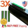MADE IN USA!!! 3X Green Fiber Optic Universal Shotgun Sight Bead