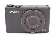 Canon PowerShot S110 12.1 MP Digital Camera - Black