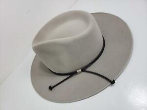 Stetson Gun Club Cowboy Hat 6X 1994 US Olympic Team Lillehammer Outfit, Sz 7 1/2