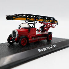 Atlas Magirus DL 26 Fire Engine Diecast Models Limited Edition Collection 1/72