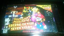 Sleeve for SNES SFC Super Nintendo famicom Mario RPG Legend stars game USA japan