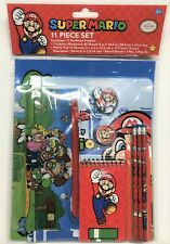 SUPER MARIO BROS. 11-Pc. Value Pack Back-to-School Stationery Supplies Set  $20