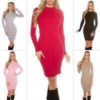 Women's Long Sleeve Sweater Dress - One Size (S/M/L)