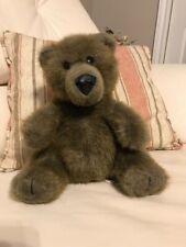 Ganz Bros 9 inch Brown Baby Teddy Bear Heritage Collection Vinyl Nose 1980s