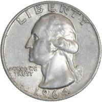 1964 D Washington Quarter 90% Silver Extra Fine XF