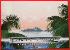 THUNDERBIRDS (The 2004 Movie) - Card#03 - Story Premise - Cards Inc 2004