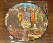 THE Beatles Sgt Peppers LONELY Hearts Club Band UK LP PICTURE DISC