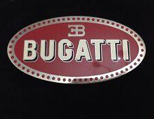 Bugatti EB FREGIO STEMMA LOGO SMALTATO bellissimo