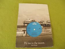 "Oscar Peterson - Fly Me To The Moon RARE Dutch Flight Company ""KLM"" Promo? 7"" 45"