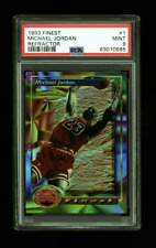 1993 Finest Refractor Michael Jordan #1 PSA 9 MINT Brand New Case Super Low POP
