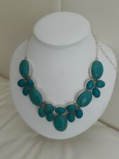 Unusual Extra Large Turquoise Necklace Fabulous Christmas gift BOXED