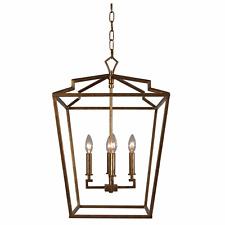 Terracotta Designs Camilla Medium Chandelier - Antique Gold, PLEASE READ