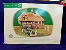 "Dept. 56 Dickens Village ""Aldeburgh Music Box Shop"" Gift Set Of 3 #58442 Nib"