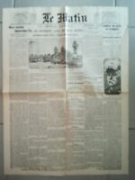 Fac similé Journal - LE MATIN 22 AOÛT 1914