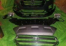 2017 2018 2019 FORD ESCAPE FRONT BUMPER COVER COMPLETE WITH FOG/TURN LIGHTS