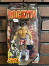 Rocky IV Rocky Balboa Fight Gear Action Figure Jakks Pacific 2007 Unopened