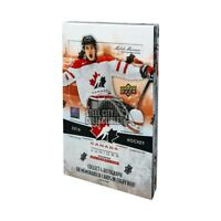 2016-17 Upper Deck Team Canada World Juniors Hockey Hobby Box