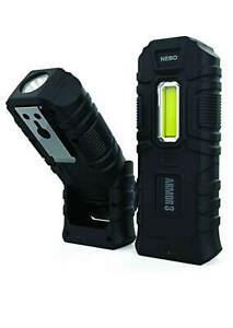 Nebo Armor 3 Waterproof IPX7 360 Lumen Work Light 160 Lumen Torch Magnetic