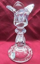 GORHAM  LEAD CRYSTAL GLASS CANDLE HOLDER STICK, TULIP DESIGN  # PR-527