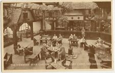 Butlins Skegness, Viennese Beer Garden 1953 Valentines G9323 Postcard, B308