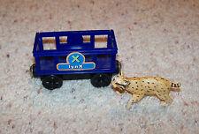 Alpha Zoo Express, Thomas Train Wooden Animal Circus Car, Wood Lynx