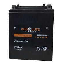 New YTX14AH-BS Battery Suzuki Quad Runner King Quad LTF250 LTF300 LTF4WD 250 300