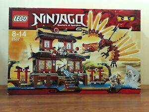 LEGO 2507 NINJAGO FIRE TEMPLE Dragon BNIB