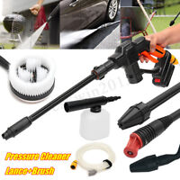 12V Variable Lance Cordless Pressure Cleaner Washer Gun Hose + Battery+Charger