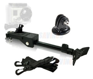 Tripod Style Camera Support w/Strap & GoPro Mount adapter for GoPro 4 Models