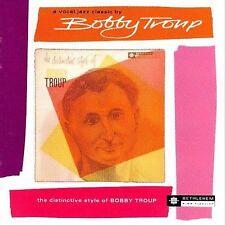 BOBBY TROUP The Distinctive Style Of CD HOWARD ROBERTS BOB ENEVOLDSEN DON HEATH