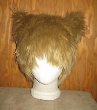 KITTY CAT FUR EARS HAT TEDDY BEAR TED FESTIVAL WIG COSPLAY ANIME CYBER GOTH PUNK