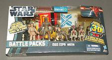 Mos Espa Arena Star Wars Battle Packs Figure Set w Sebulba, Pit Droid x 2, C-3PO