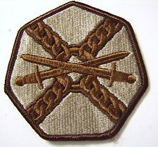 INSTALLATION MANAGEMENT COMMAND PATCH SSI U.S. ARMY - DESERT TAN COLOR:FA12-1