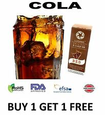 COCA COLA Flavour E Liquid Vapour 10ml E-CIG Pen Vaping Juice Refill Flavor Oil