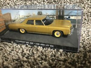 JAMES BOND 007 Chevy Bel Air  Live And Let Die 1:43