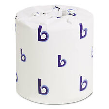 Boardwalk Two-Ply Toilet Tissue White 4 1/2 x 3 Sheet 500 Sheets/Roll 96 Rolls