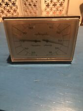 Collectible Vintage Airguide Instrument Co Desktop Weather Station Thermometer