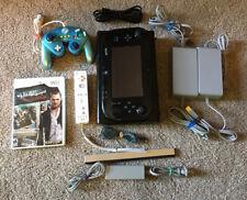 Nintendo Wii U 32GB Console Lot w/ Wii Remote Wii Sensor and More