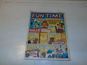 FUN TIME Comic - No 2 - Date 1972 - UK Paper comic