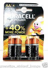 Duracell Plus Power AA LR6/MN1500 Batterien 4 Stück