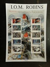 IOM 2004 Robins Inverno Amici SHEETLET FDC