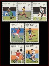 "CAMBODGE N°893/899** Football ""Italia 90"" 1990, CAMBODIA World Cup Soccer MNH"