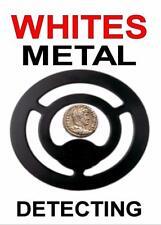 WHITES METAL DETECTING KEYRING -DETECTOR KEYRING, GREAT GIFT. IMAGE SIZE 5 x 3.5